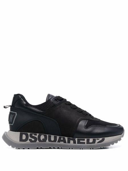 Кроссовки с логотипом на подошве Dsquared2 фото