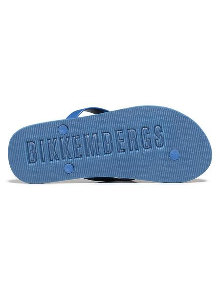 Мужские шлепанцы с логотипом Bikkembergs, фото