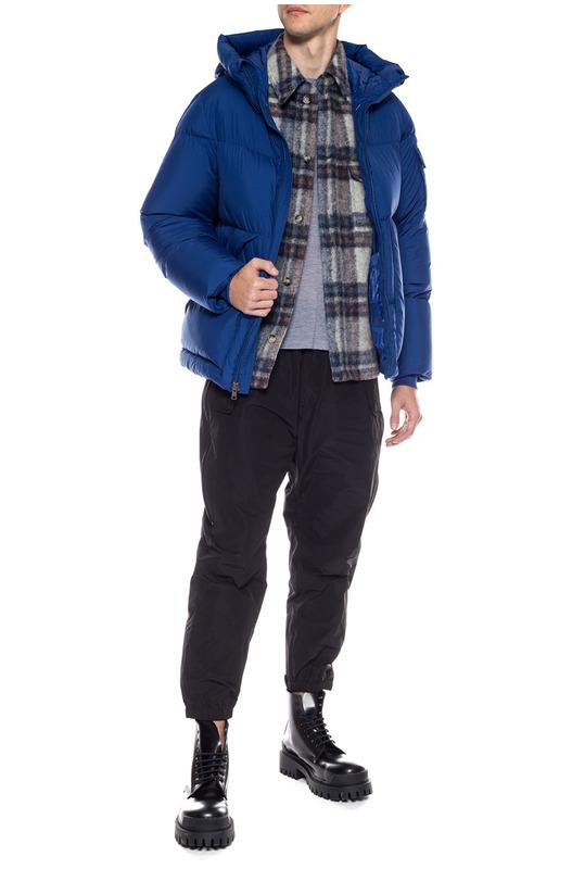 Синий стеганый пуховик Sierra Woolrich, фото