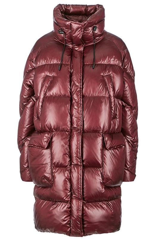 Удлиненный зимний пуховик оверсайз Woolrich, фото