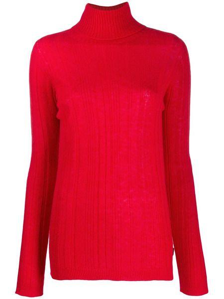 Красная водолазка Woolrich фото
