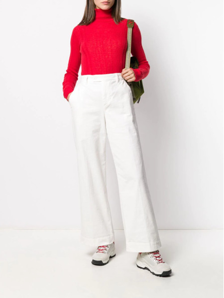 Красная водолазка Woolrich, фото