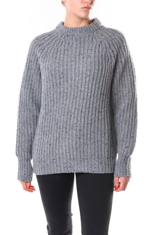 Серый твидовый свитер Woolrich, фото