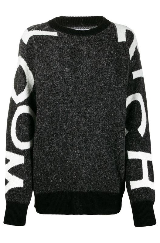 Серый джемпер Woolrich, фото