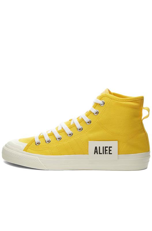 Высокие кеды Alife Nizza HI X Adidas, фото