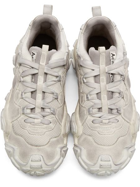 Белые кроссовки Acne Studios Bolzter M