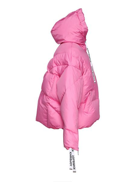 Розовый пуховик Bubblegum Khris