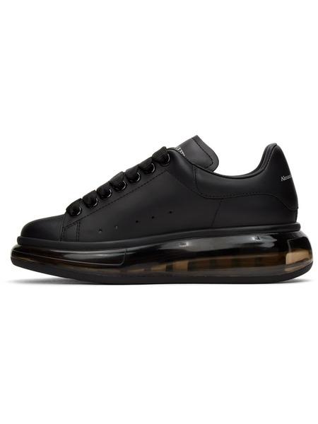 Черные кроссовки Clear Sole Oversized с прозрачной подошвой Alexander McQueen, фото