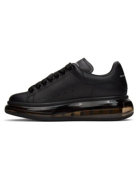 Черные кроссовки Clear Sole Oversized с прозрачной подошвой