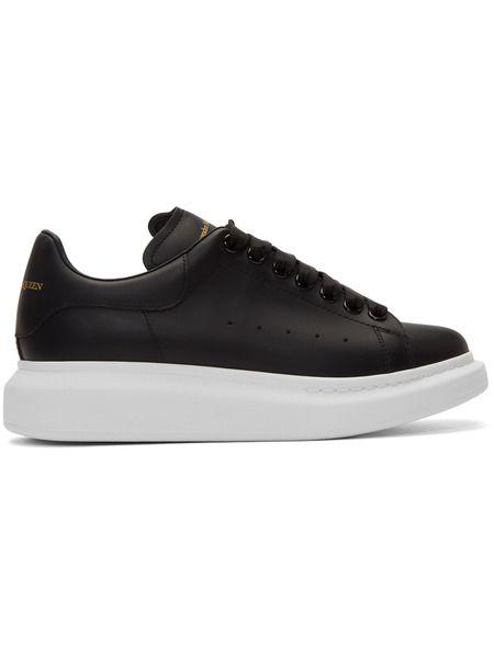Черные кроссовки с белой подошвой Alexander McQueen Alexander McQueen, фото