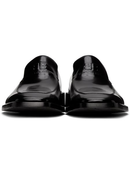 Черные туфли Coin Rim Balenciaga, фото
