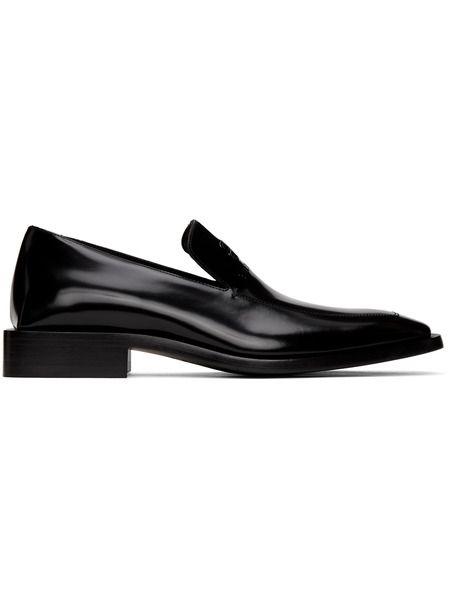 Черные туфли Coin Rim Balenciaga фото