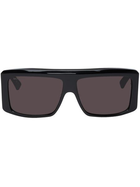 Черные солнцезащитные очки Balenciaga с плоским верхом Balenciaga фото