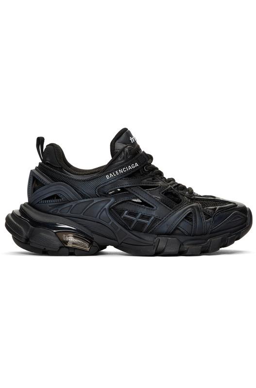Черные кроссовки Track.2 Balenciaga, фото