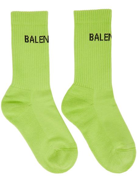Зеленые теннисные носки Balenciaga, фото