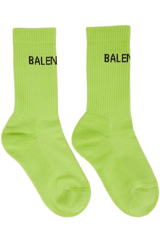 Зеленые теннисные носки