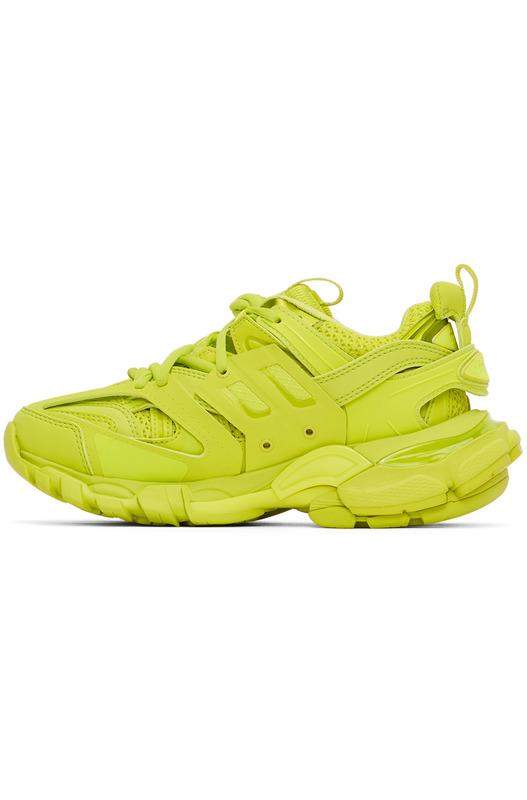 Зеленые кроссовки Track Balenciaga, фото