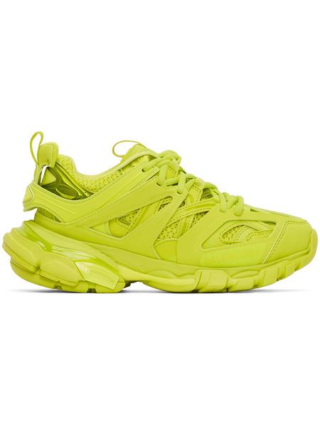 Зеленые кроссовки Track Balenciaga фото