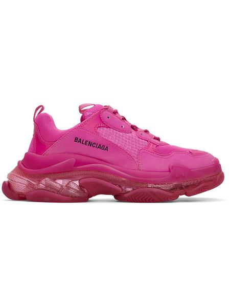 Розовые кроссовки Balenciaga Triple S Clear Sole Balenciaga, фото