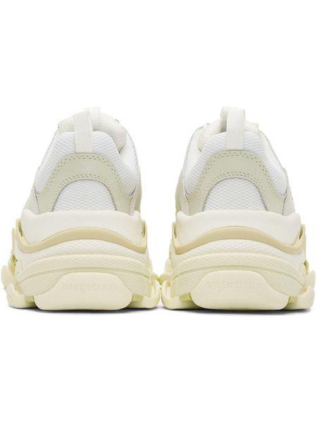 Белые кроссовки Balenciaga Triple S