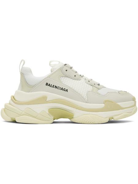 Белые кроссовки Balenciaga Triple S Balenciaga фото