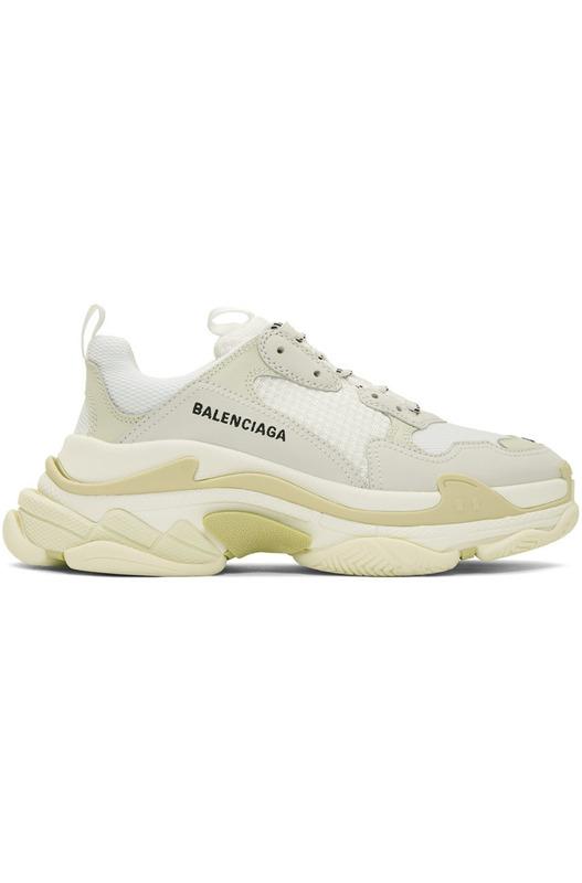 Белые кроссовки Balenciaga Triple S Balenciaga