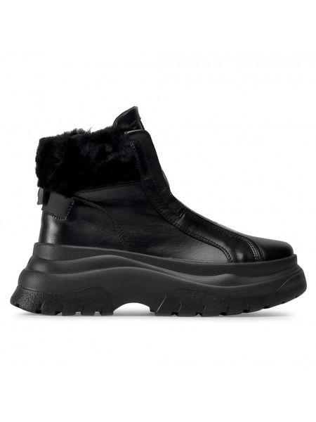 Черные ботинки на высокой подошве Banff 3A Bogner фото
