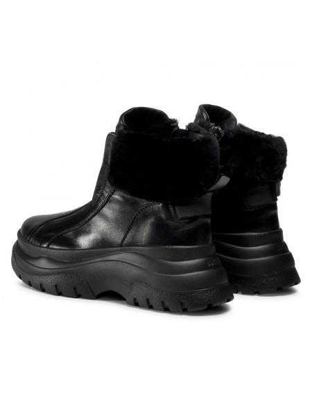 Черные ботинки на высокой подошве Banff 3A Bogner, фото