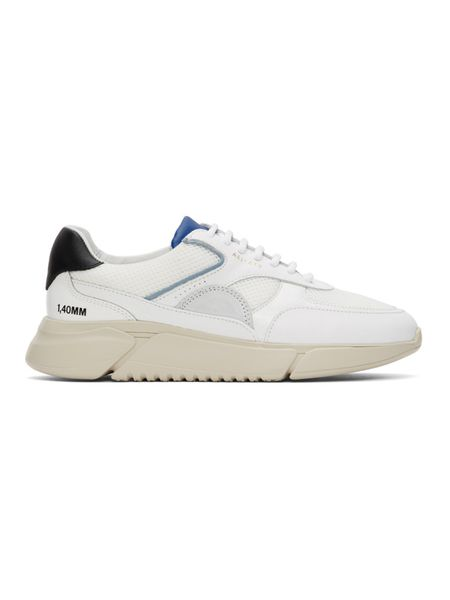 Бело-синие кроссовки Genesis Triple BLKCOBALT Axel Arigato фото