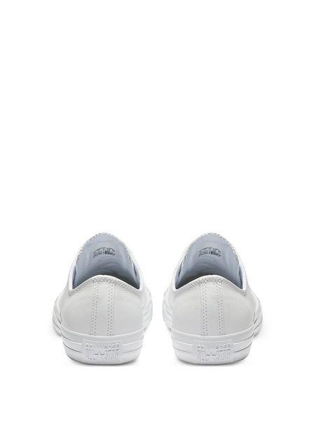 Белые кожаные кеды Chuck Taylor All Star Mono Leather