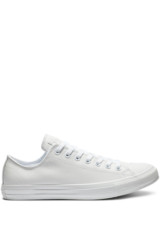 Белые кожаные кеды Chuck Taylor All Star Mono Leather
