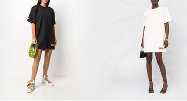 Новый тренд: платье-футболка