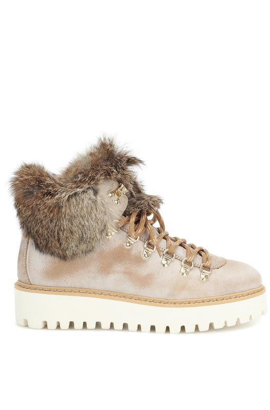 Зимние ботинки Oslo с меховой отделкой