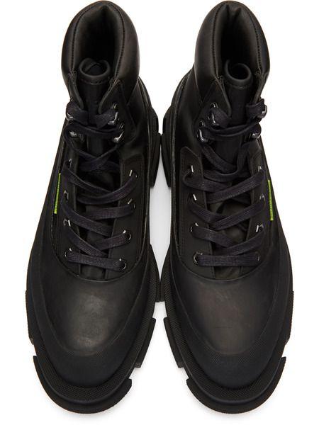 Черные ботинки Gao Mid