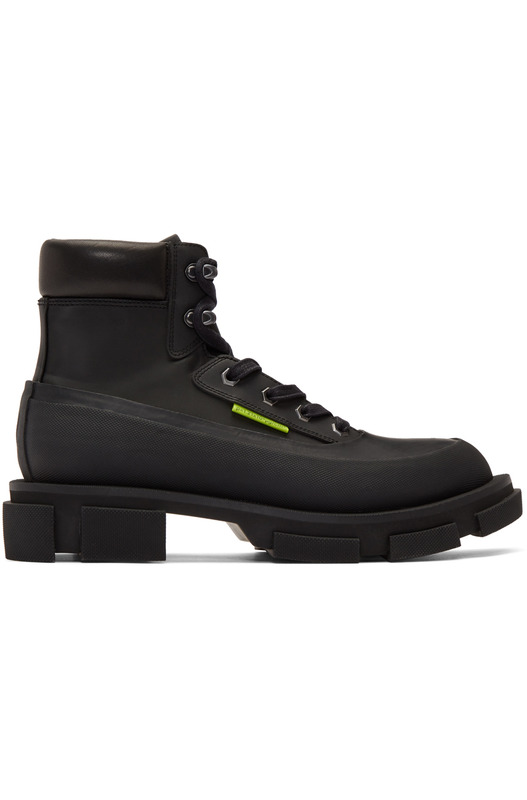 Черные ботинки Gao Mid Both