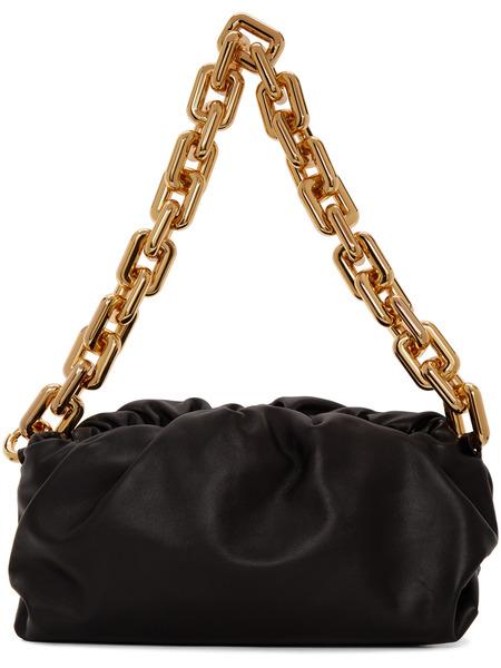 Черная сумка на плечо The Pouch Bottega Veneta Bottega Veneta, фото