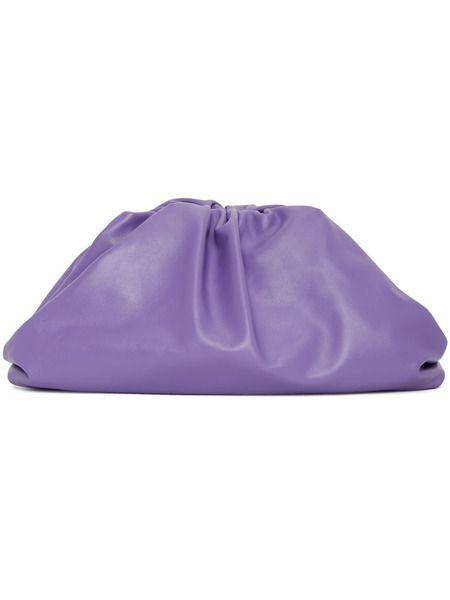Фиолетовый клатч The Pouch Bottega Veneta, фото