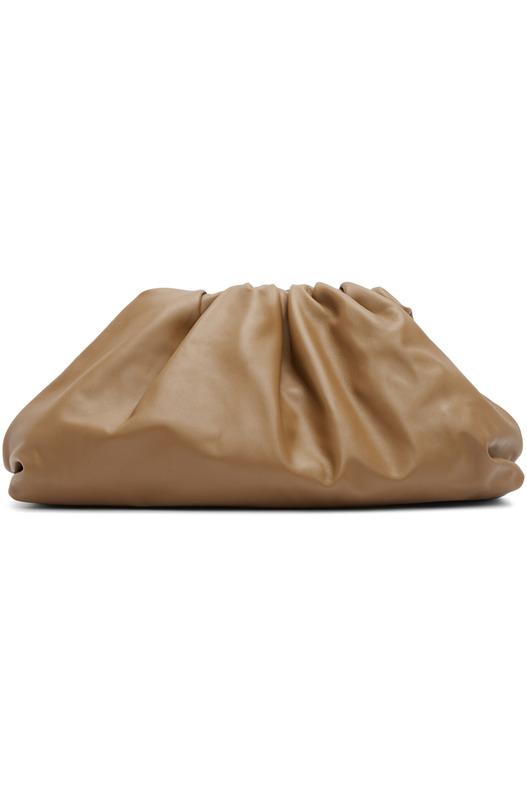 Коричневый клатч The Pouch Bottega Veneta