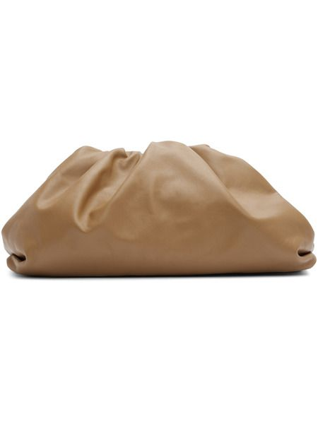 Коричневый клатч The Pouch Bottega Veneta фото