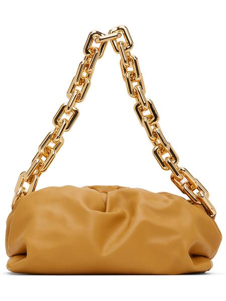 Желтый клатч через плечо Bottega Veneta The Chain Bottega Veneta фото