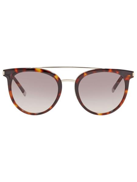 Солнцезащитные очки в леопардовой оправе CK4352S 221 Calvin Klein, фото