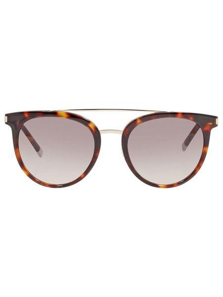 Солнцезащитные очки в леопардовой оправе CK4352S 221 Calvin Klein фото