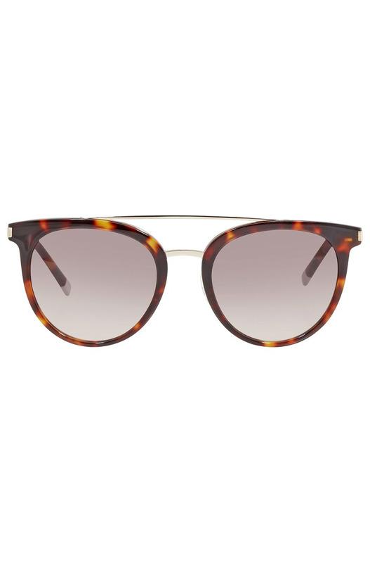 Солнцезащитные очки в леопардовой оправе CK4352S 221