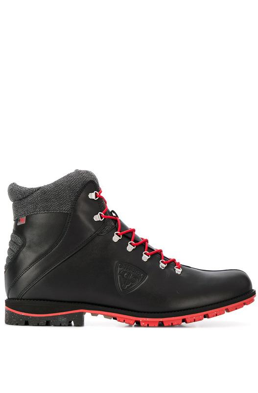 Черные ботинки Chamonix