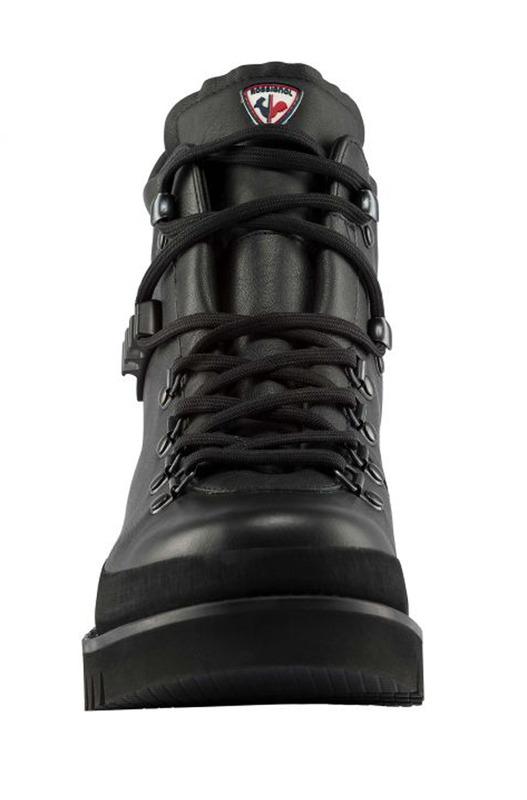 Черные кожаные ботинки на шнуровке Rossignol, фото