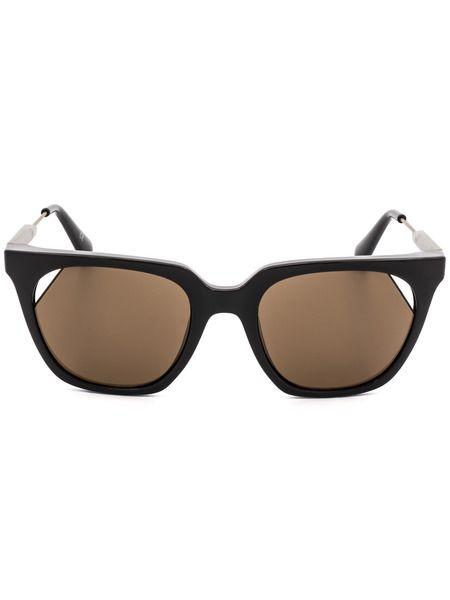 Солнцезащитные очки с коричневыми линзами CKJ509S 256 Calvin Klein Jeans фото