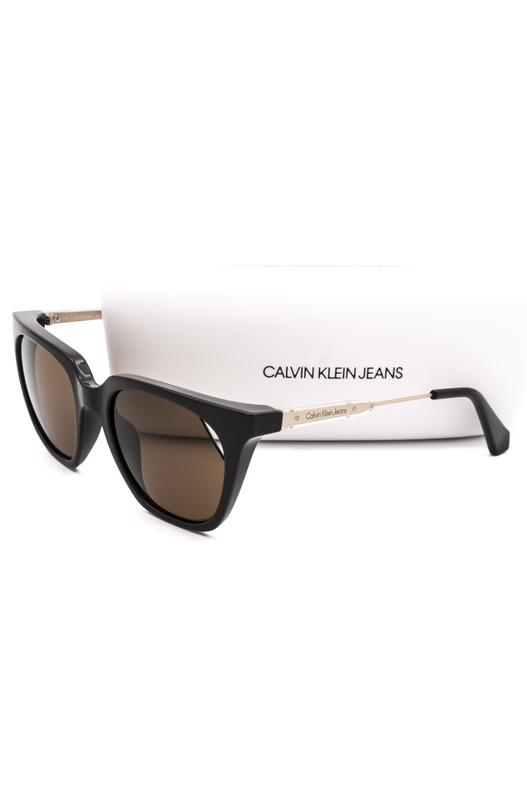 Солнцезащитные очки с коричневыми линзами CKJ509S 256 Calvin Klein Jeans