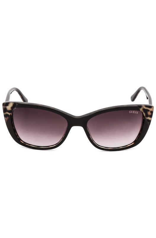 Cолнцезащитные очки в оправе с декором GU7511 48F