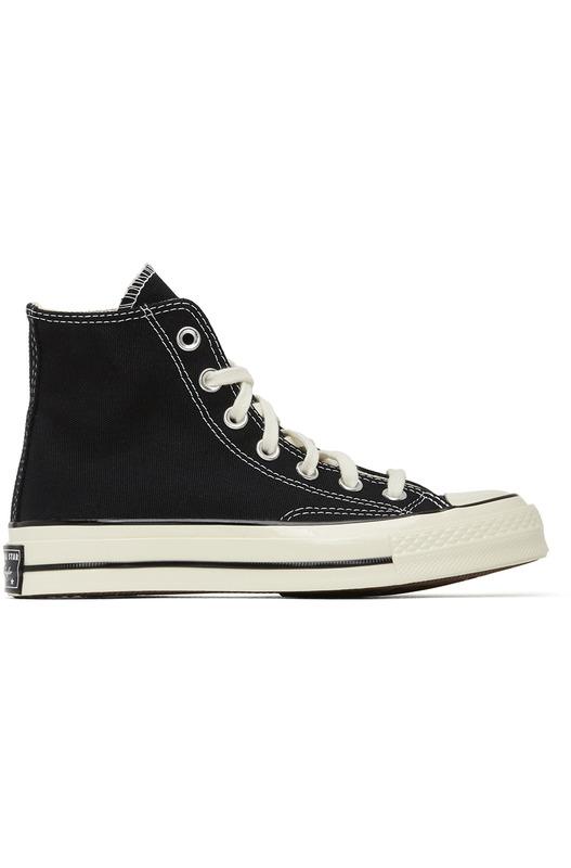 Черные высокие кеды Chuck 70 High Converse, фото