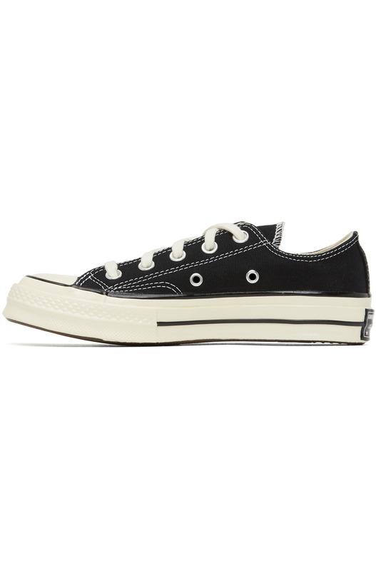 Черные кеды Chuck 70 Low Converse